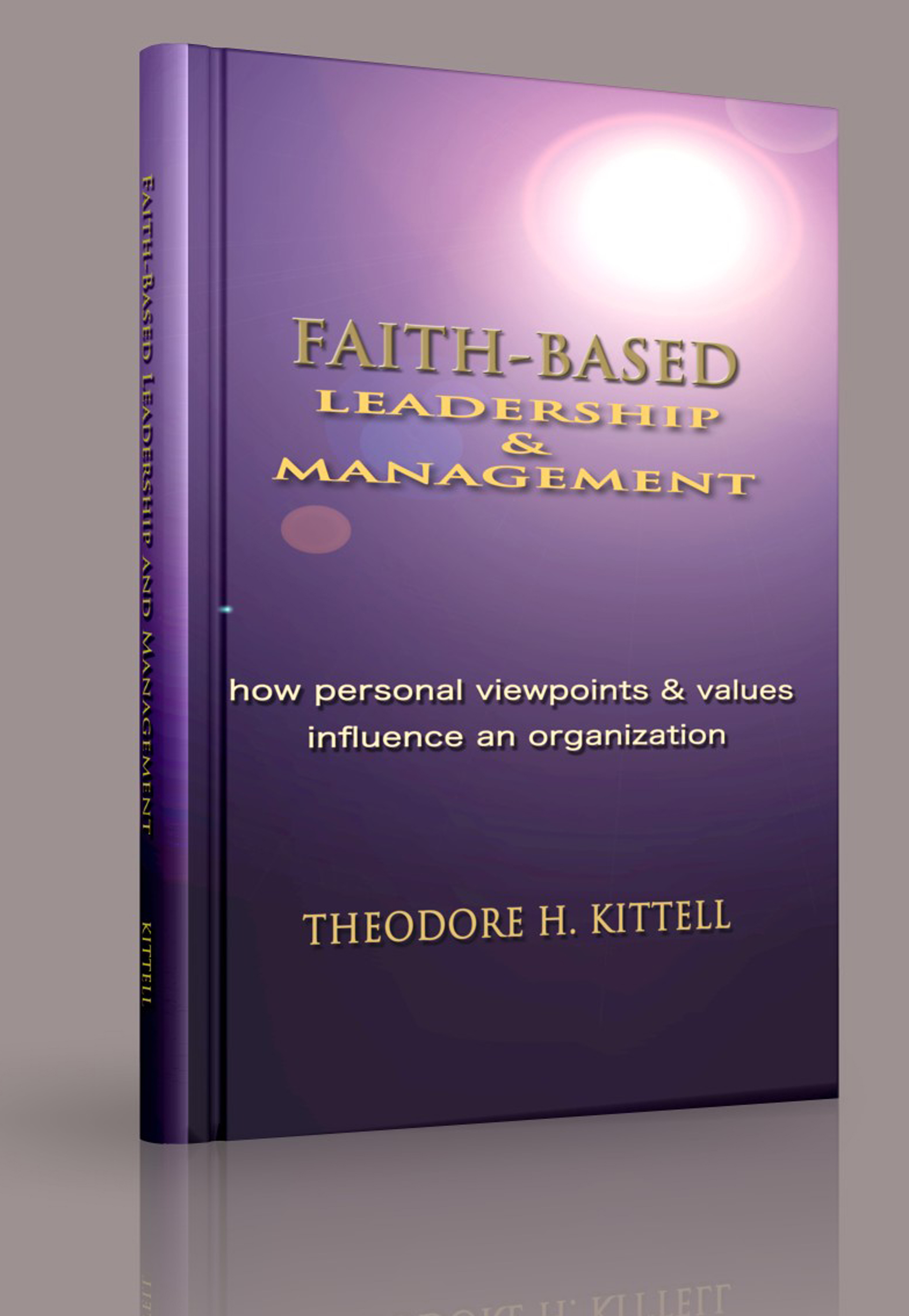 Faith-Based Leadership and Management: How Personal Viewpoints and Values Influence an Organization